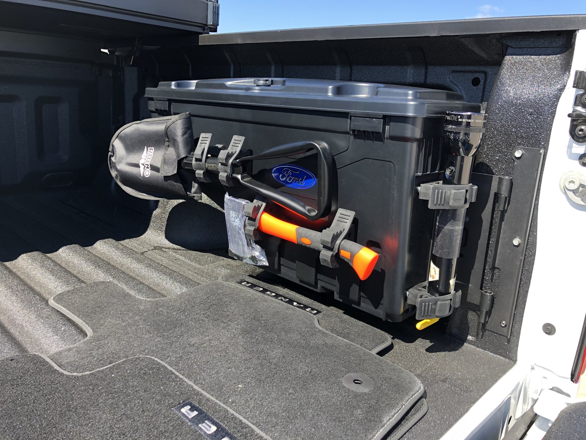 Slight Mod To The Ford Oem Swing Out Tool Boxes 2019