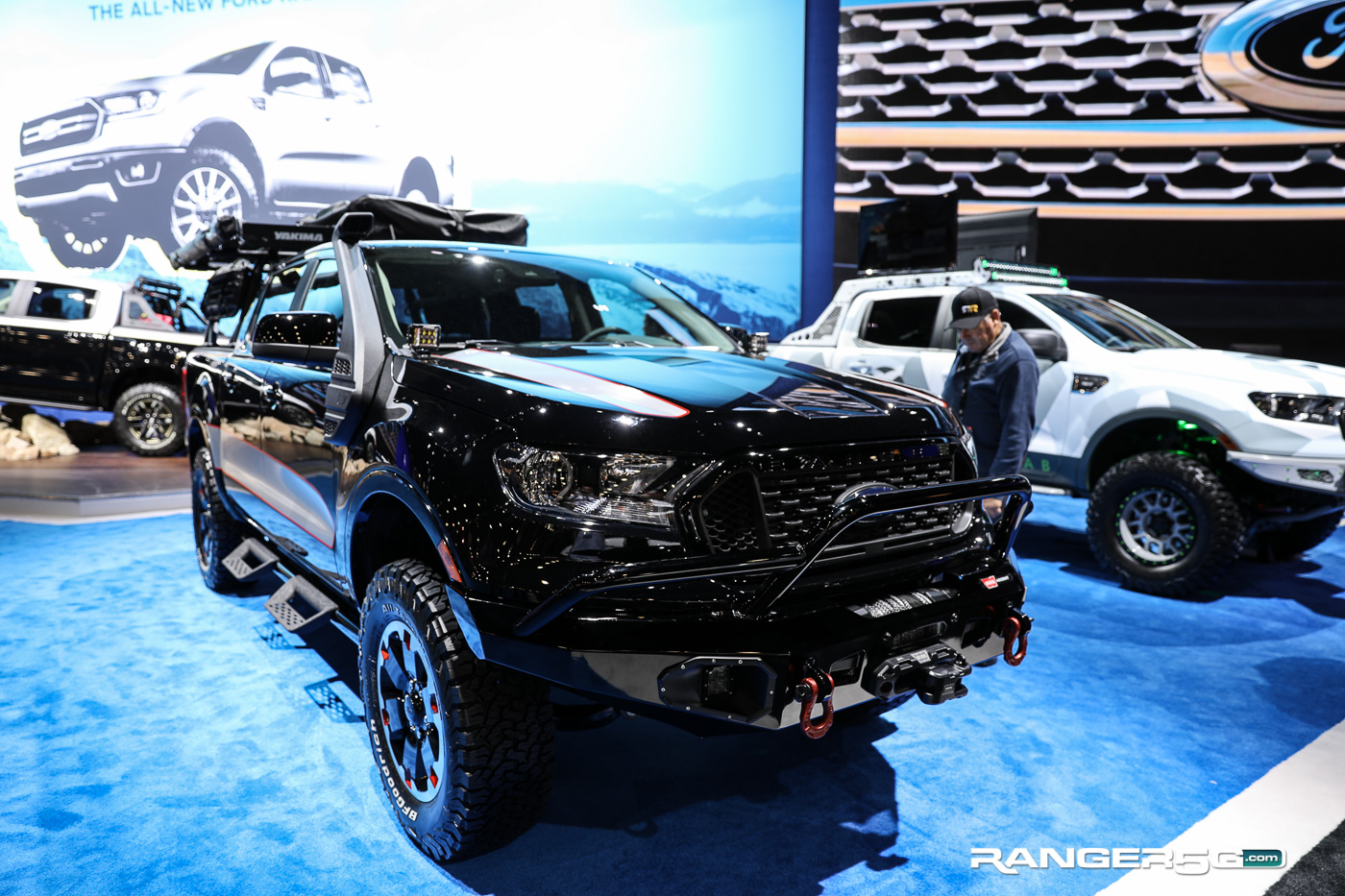 2019 Ford Ranger Base Camp 2018 Sema R5g Coverage