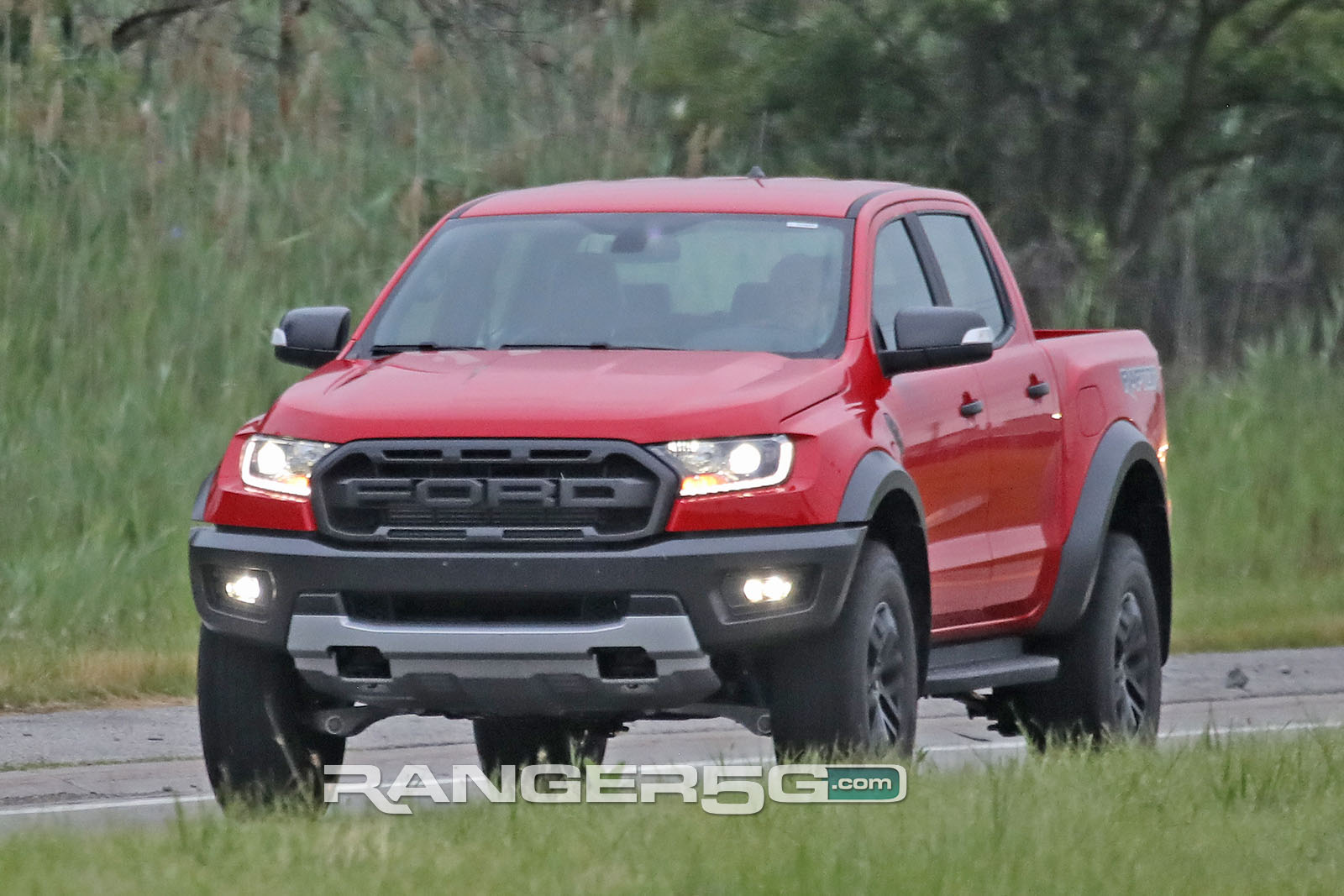 Spied: LHD Ranger Raptor Testing in US! Video + Pics ...
