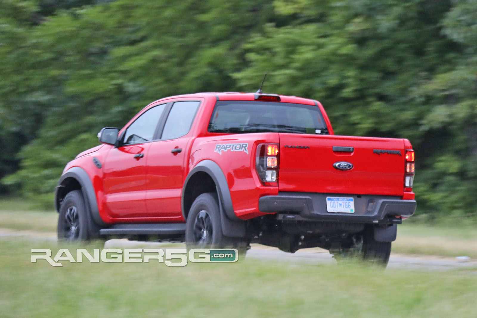 Spied Lhd Ranger Raptor Testing In Us Video Pics