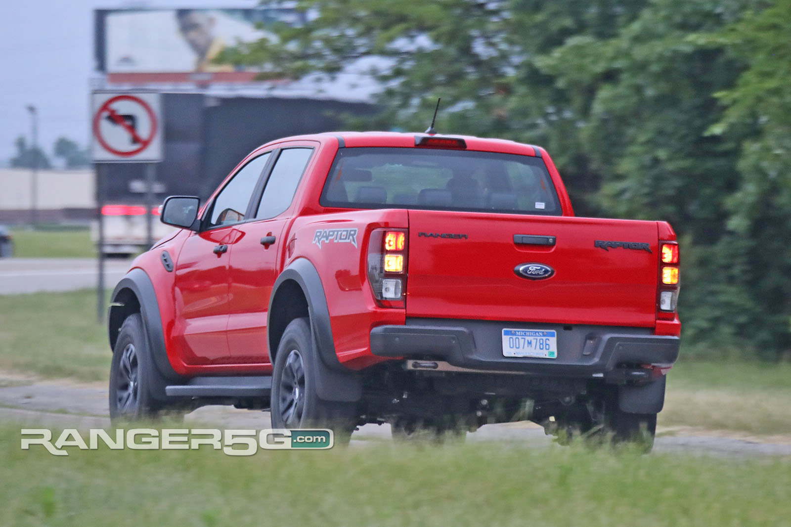 Spied: LHD Ranger Raptor Testing in US! Video + Pics | 2019+ Ford Ranger and Raptor Forum (5th ...