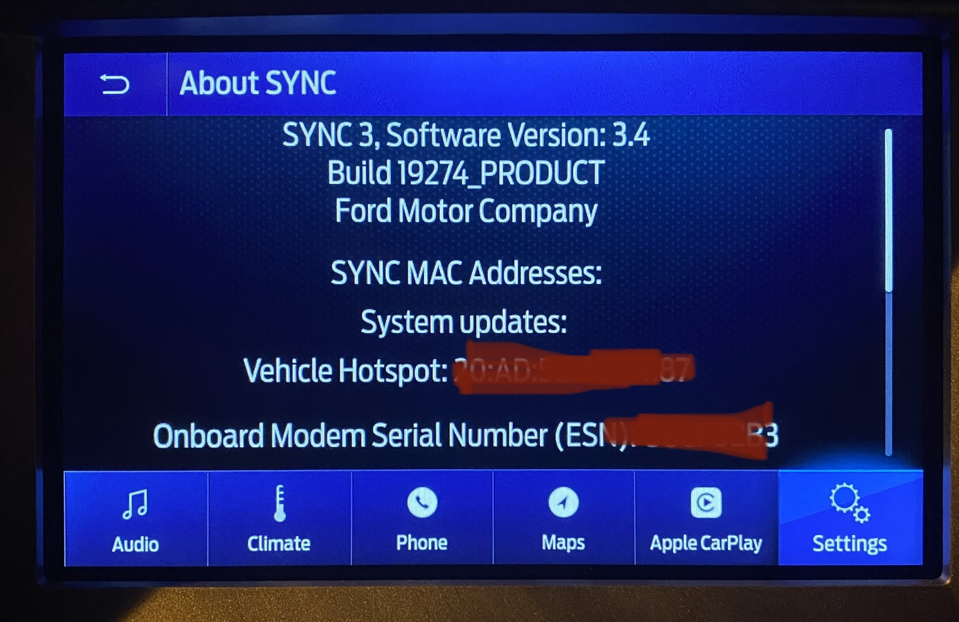Just Updated To Sync 3 4 On My Ranger 2019 2019 Ford Ranger And