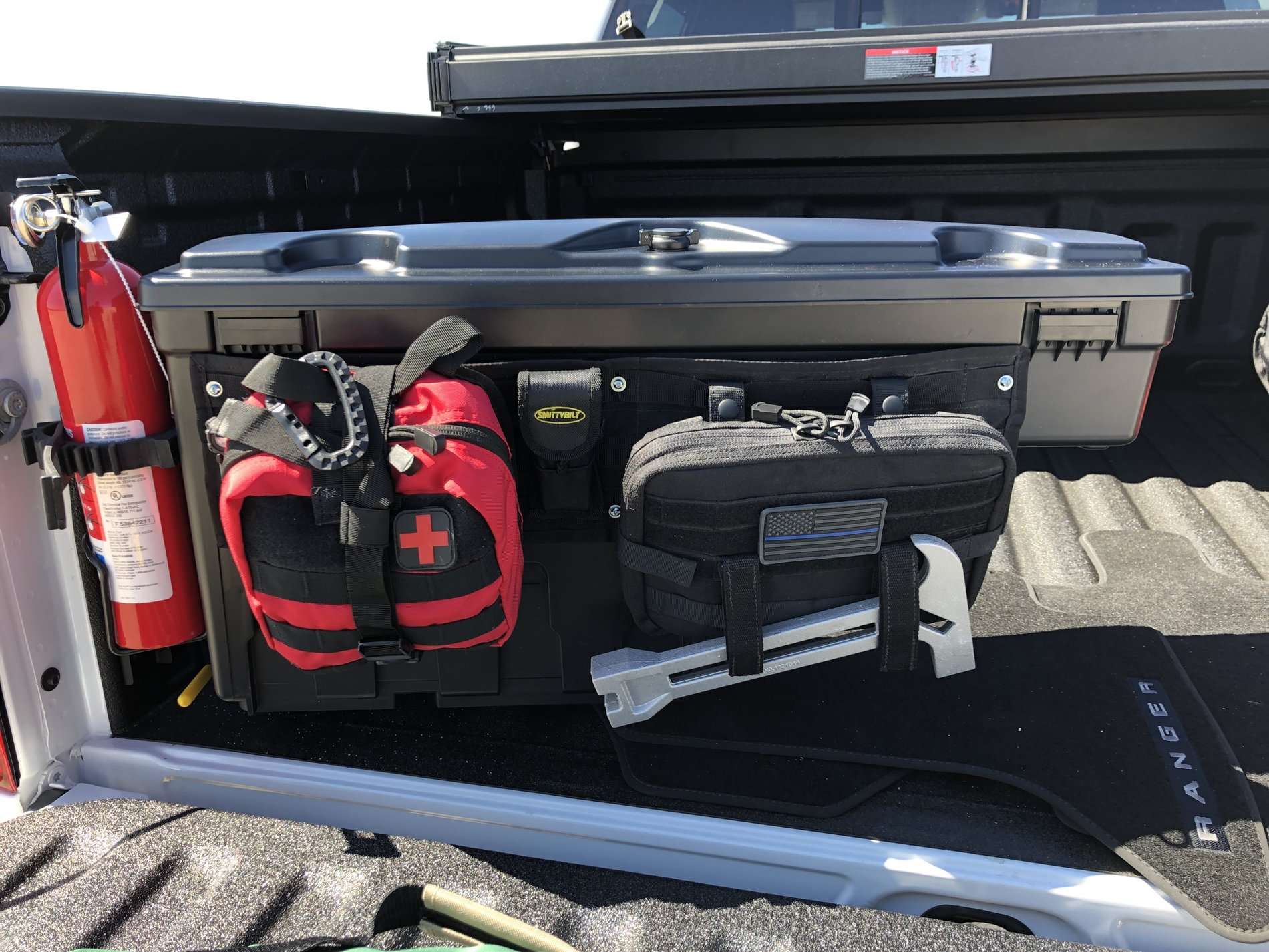 Used Ford Raptor >> Slight mod to the Ford OEM swing out tool boxes. | 2019 ...