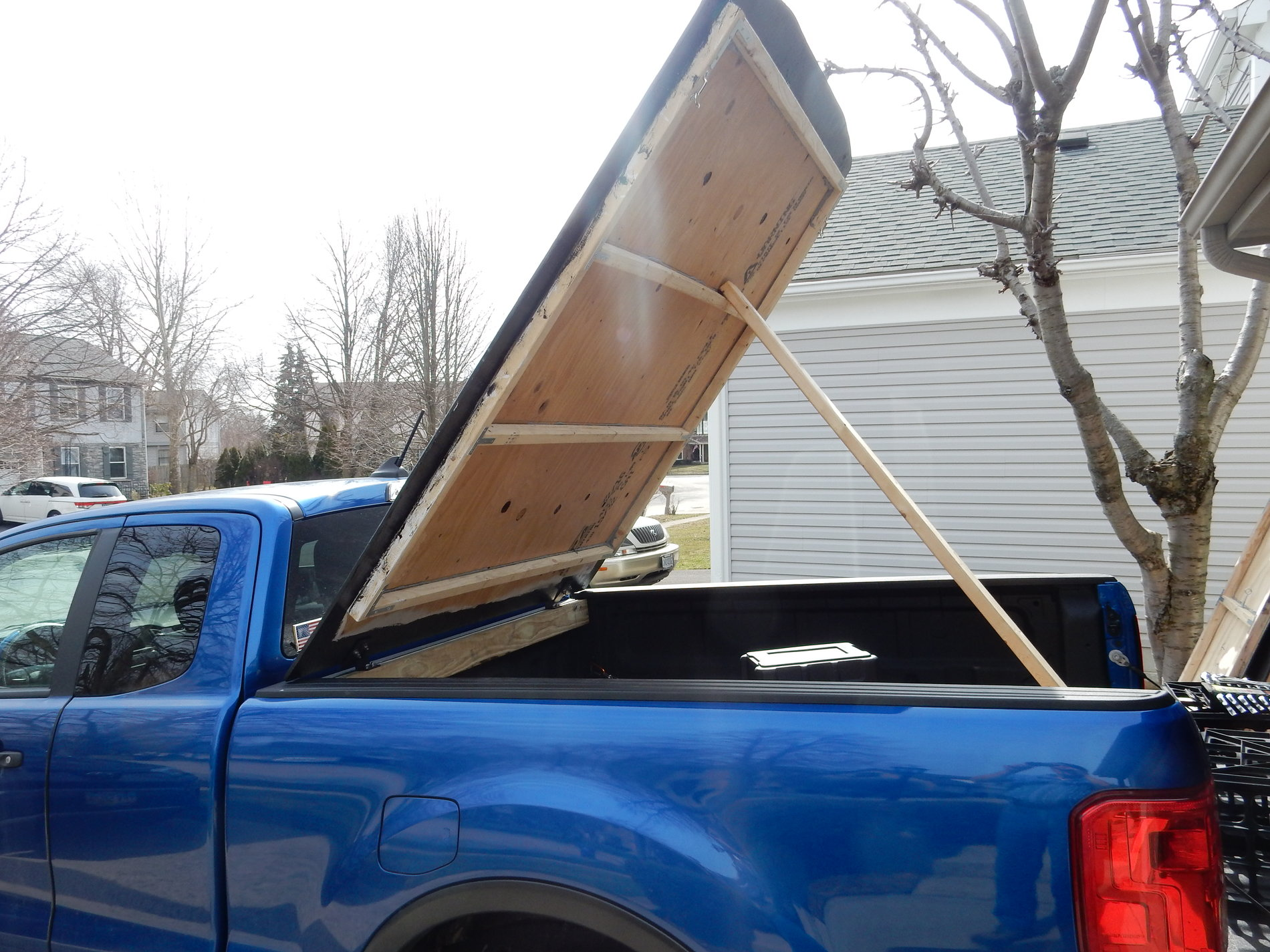 Diy Hillbilly Ii Hard Incline Truck Bed Cover For The 2019 2020 Ford Ranger New Enhanced Designed Pretty Tonneau Page 2 2019 Ford Ranger And Raptor Forum 5th Generation Ranger5g Com