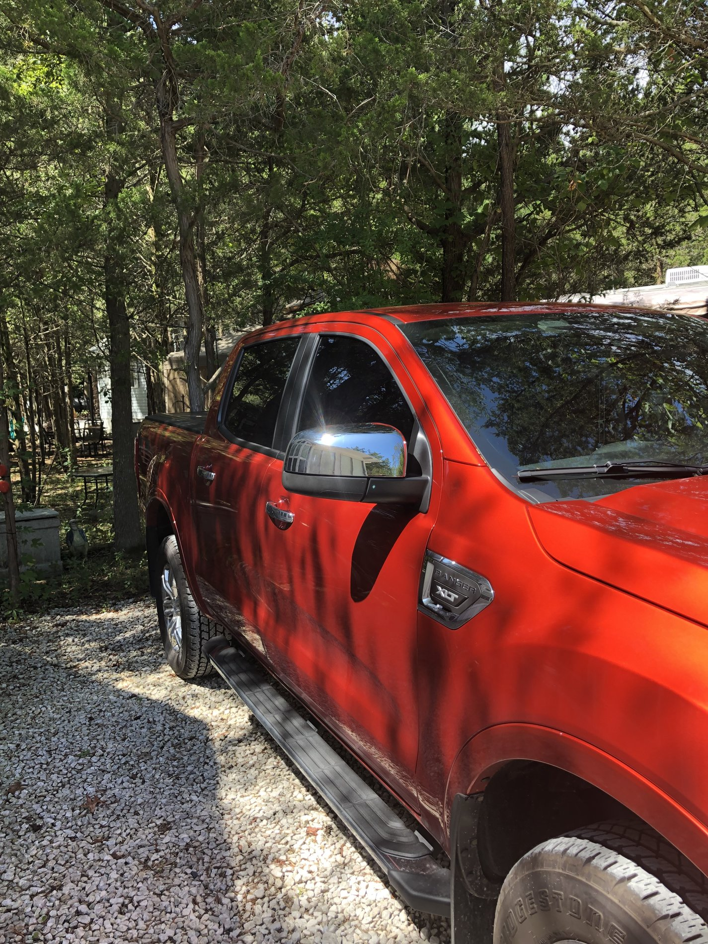 Installed Chrome Mirror Covers On My Xlt 2019 Ford Ranger And Raptor Forum 5th Generation Ranger5g Com