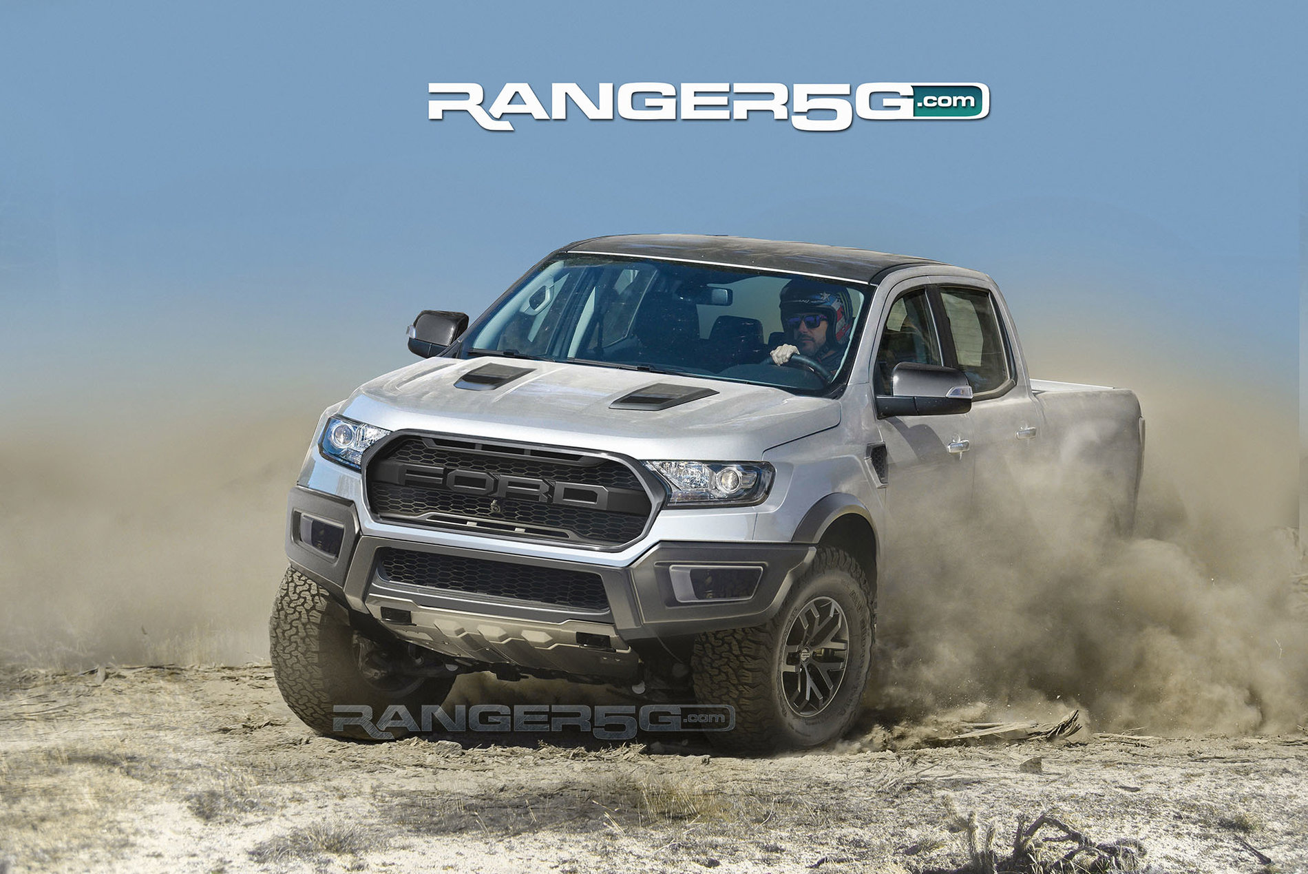 ford ranger raptor preview renders by ranger5g 2019 ford ranger and raptor forum 5th. Black Bedroom Furniture Sets. Home Design Ideas