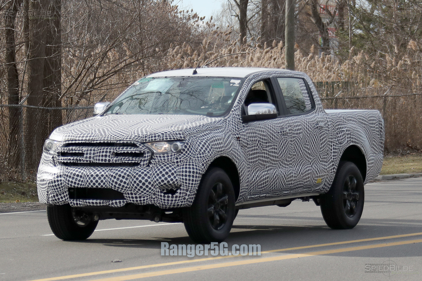 2019 Ford Ranger First Sighting 2019 Ford Ranger And