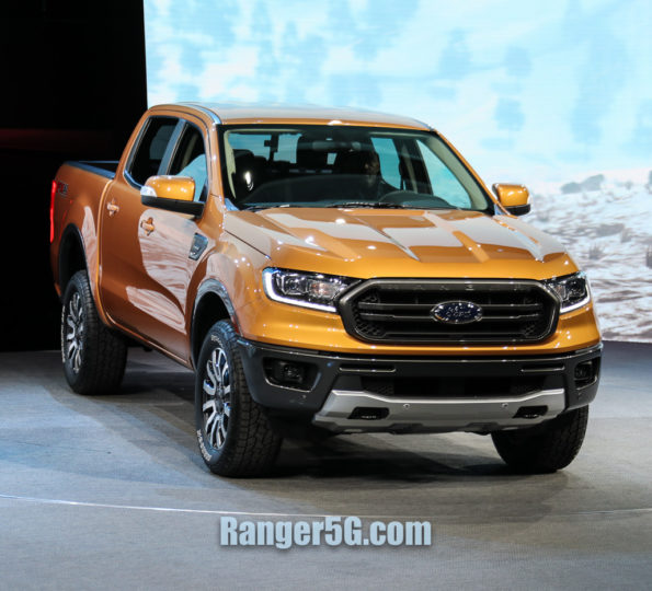 2019 Ford Ranger First Sighting!