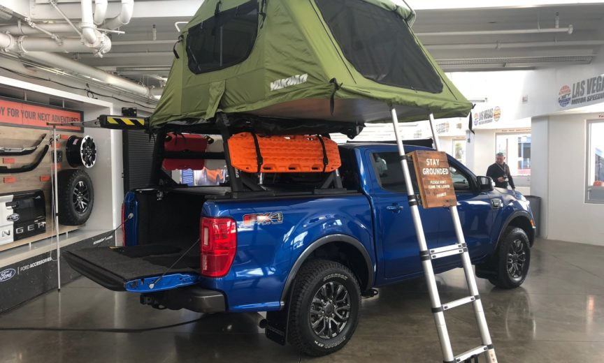 Ford ranger 4x4 2018 modified