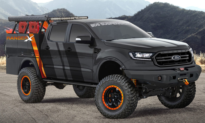 Build A Ford >> Revealed First 2019 Ford Ranger Sema Build 2019 Ford