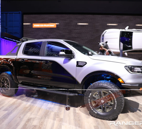 2020 Ford Ranger Spied Testing With First Bronco Everest Mule
