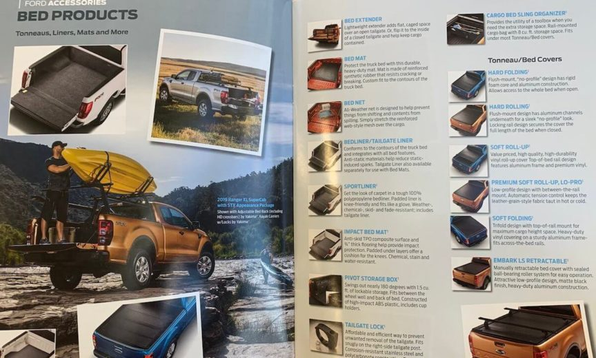 2019 Ranger Ford Accessories Color Brochure Now Available – 2019+