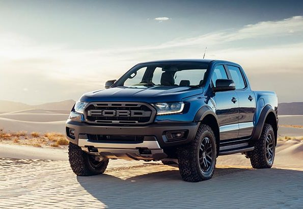 2019 Ranger Modified With Raptor Grille